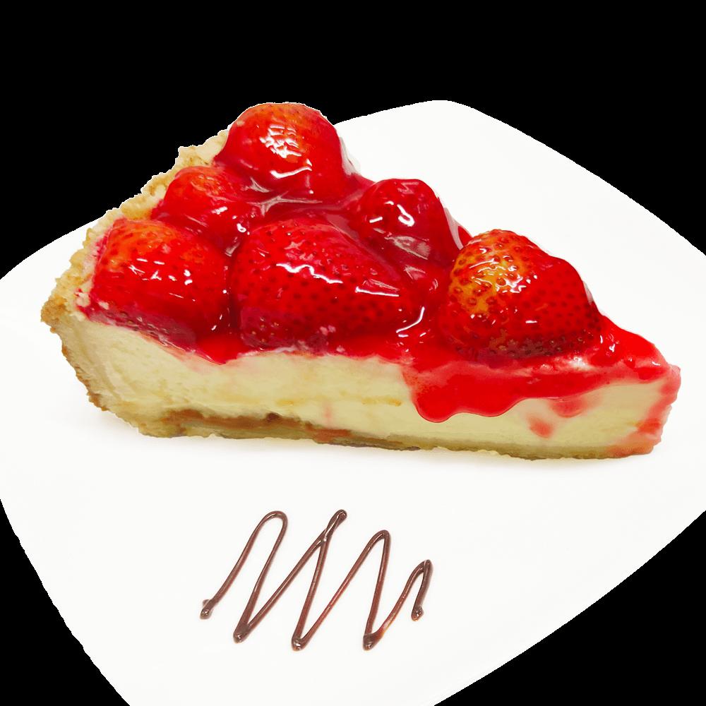 Cheesecake de Fresa – porción