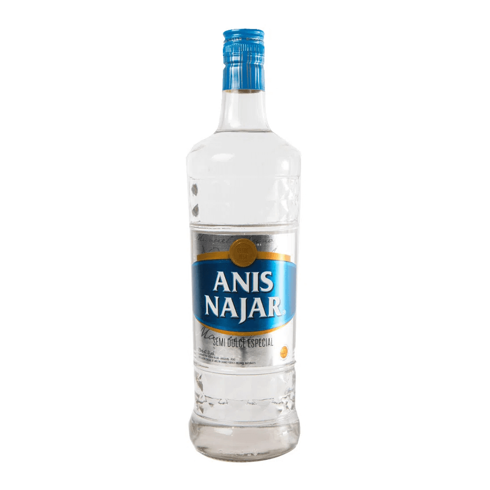 Anís Najar etiqueta azul 750 ml