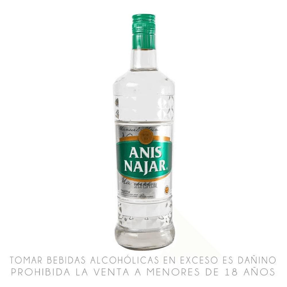 Anís Najar etiqueta verde 750 ml
