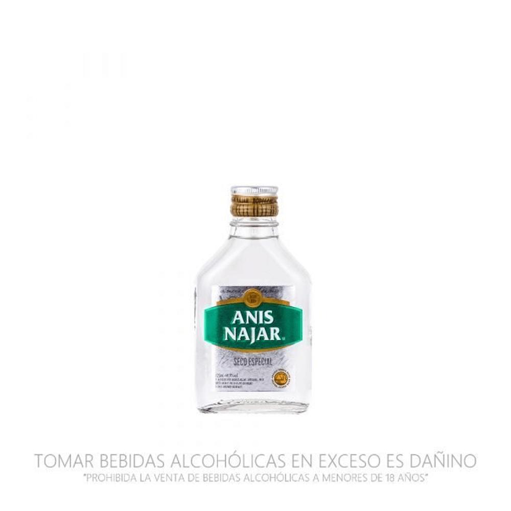 Anís Najar etiqueta verde petaca 125 ml