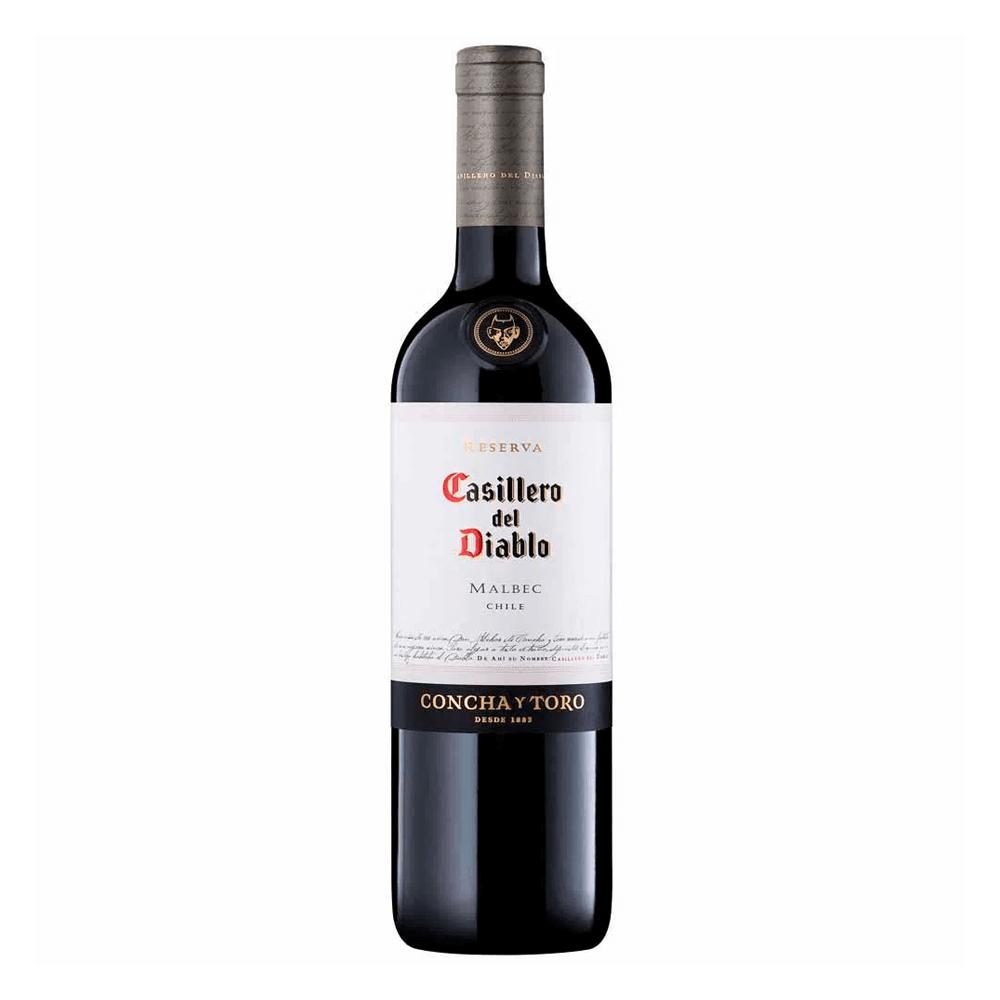 Vino Malbec Casillero del Diablo 750 ml